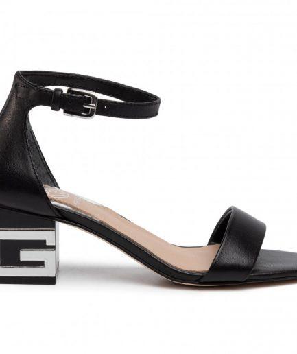 Guess sandalo Maeva vera pelle nero Tersicore