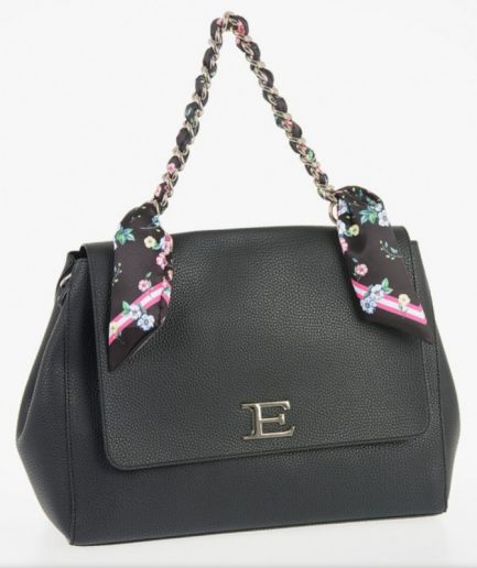 Ermanno Scervino Flap Bag Eba Summer Black Tersicore