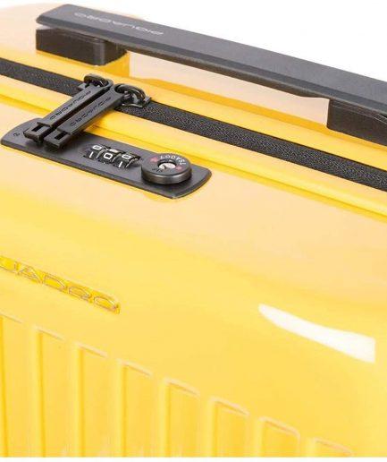 Piquadro trolley seeker giallo Tersicore
