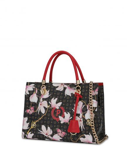 Pollini Shopping Bag Heritage Secret Garden Tersicore
