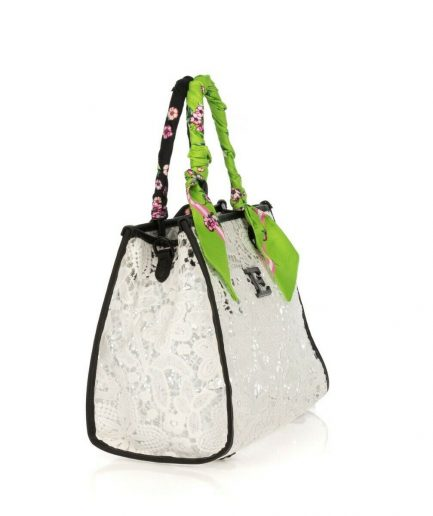 Ermanno Scervino Small Shopper Ginevra White Tersicore