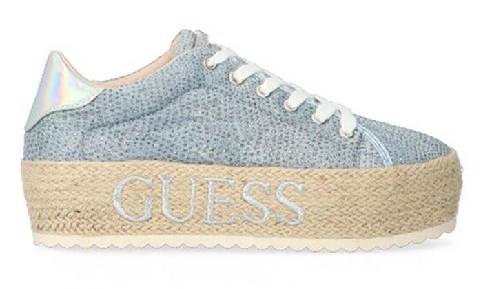 Guess sneaker platform glitterate Tersicore