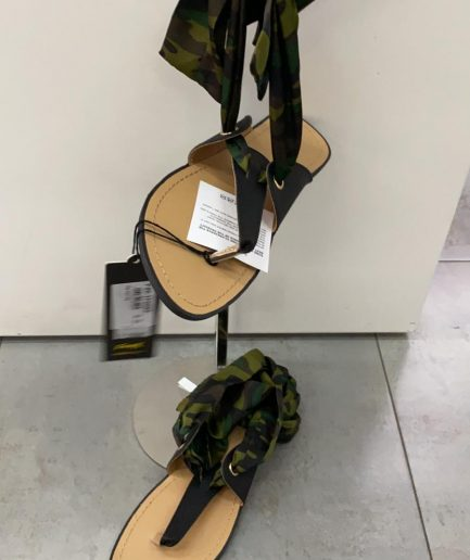 Infradito donna fusciacca tokyo 2020 camouflage Tersicore
