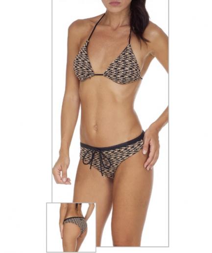 F**K bikini triangolo e slip coulotte Atmosphera Tersicore