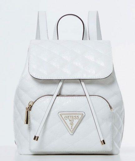Guess zaino Astrid triangolo logo bianco Tersicore