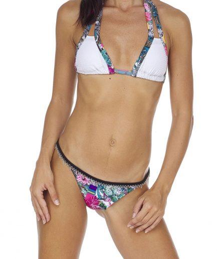 F**k bikini triangolo e slip laccetto brasiliano fisso Garden Tersicore