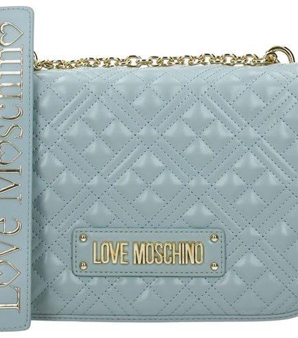 Love Moschino borsa a spalla trapuntata nuvola Tersicore