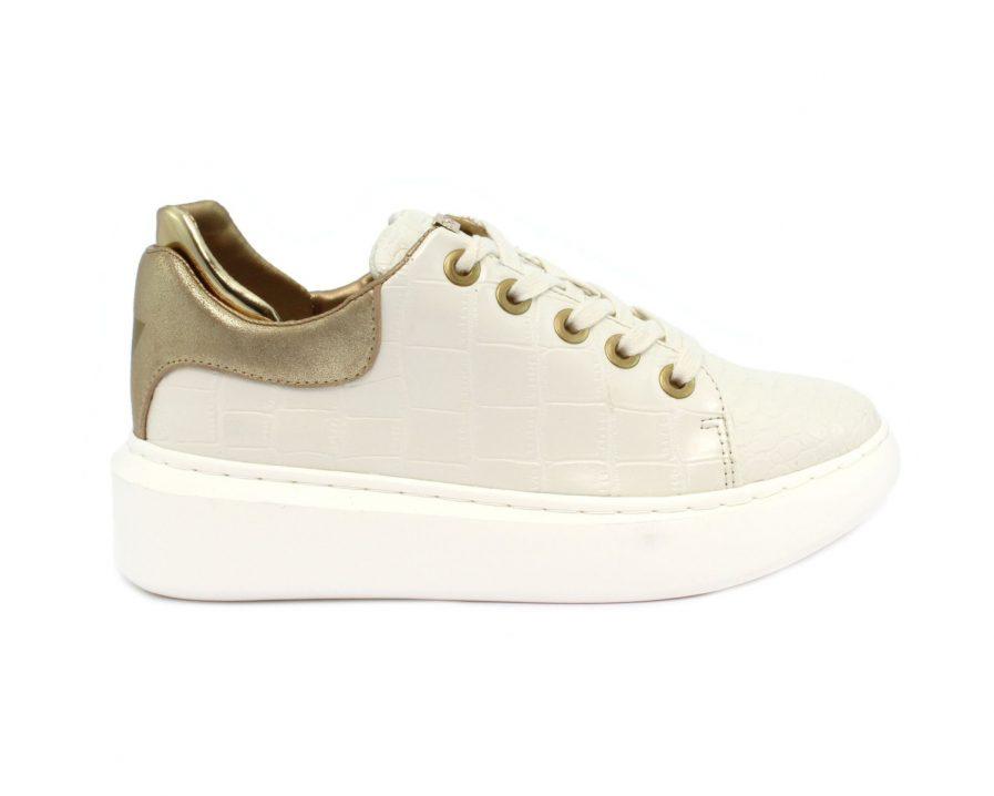 Guess sneaker braylin stampa effetto cocco bianca Tersicore