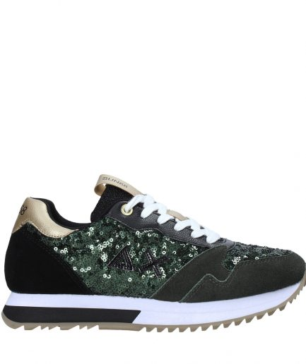 Sun68 Sneakers Donna Running Kelly Solid Paillettes Z40224