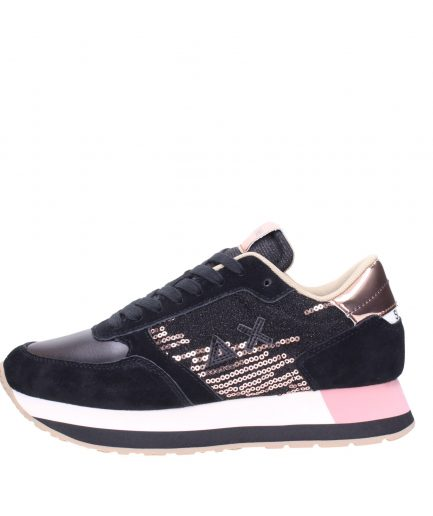 Sun68 Sneakers Donna Running Kate Velvet Paillettes Z40218