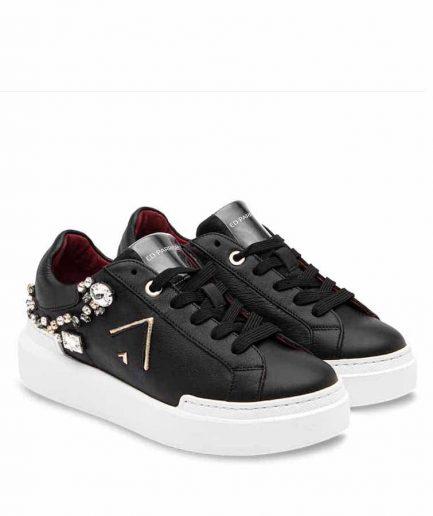 Ed Parrish Sneakers Donna Sarah CKLD-AR10 Black/Swarovski