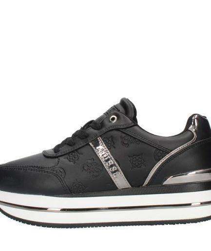 Guess Sneakers platform con logo col. nero