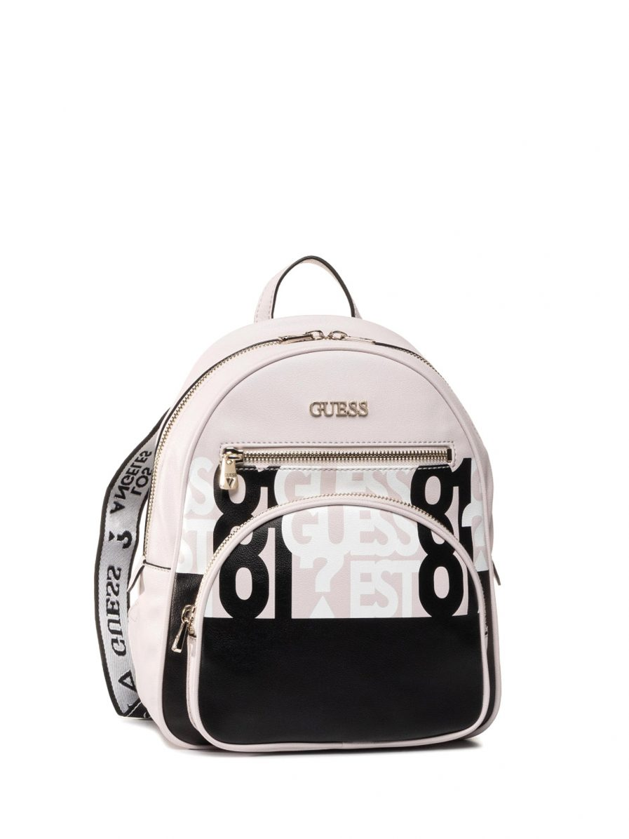 Guess Utility Vibe Logo Backpack col. stone multi