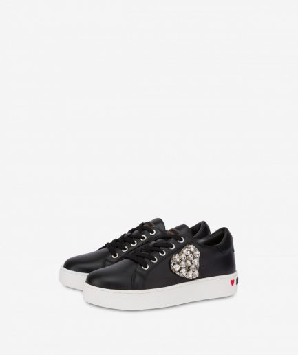 Love Moschino Sneakers Crystal Hearts