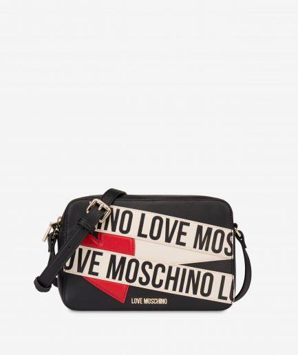 Love Moschino Borsa a tracolla Logo Scroll