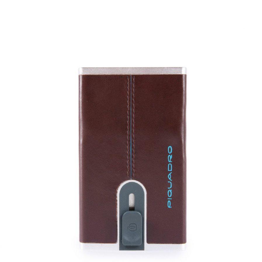Piquadro Compact wallet per banconote e carte di credito Blue Square