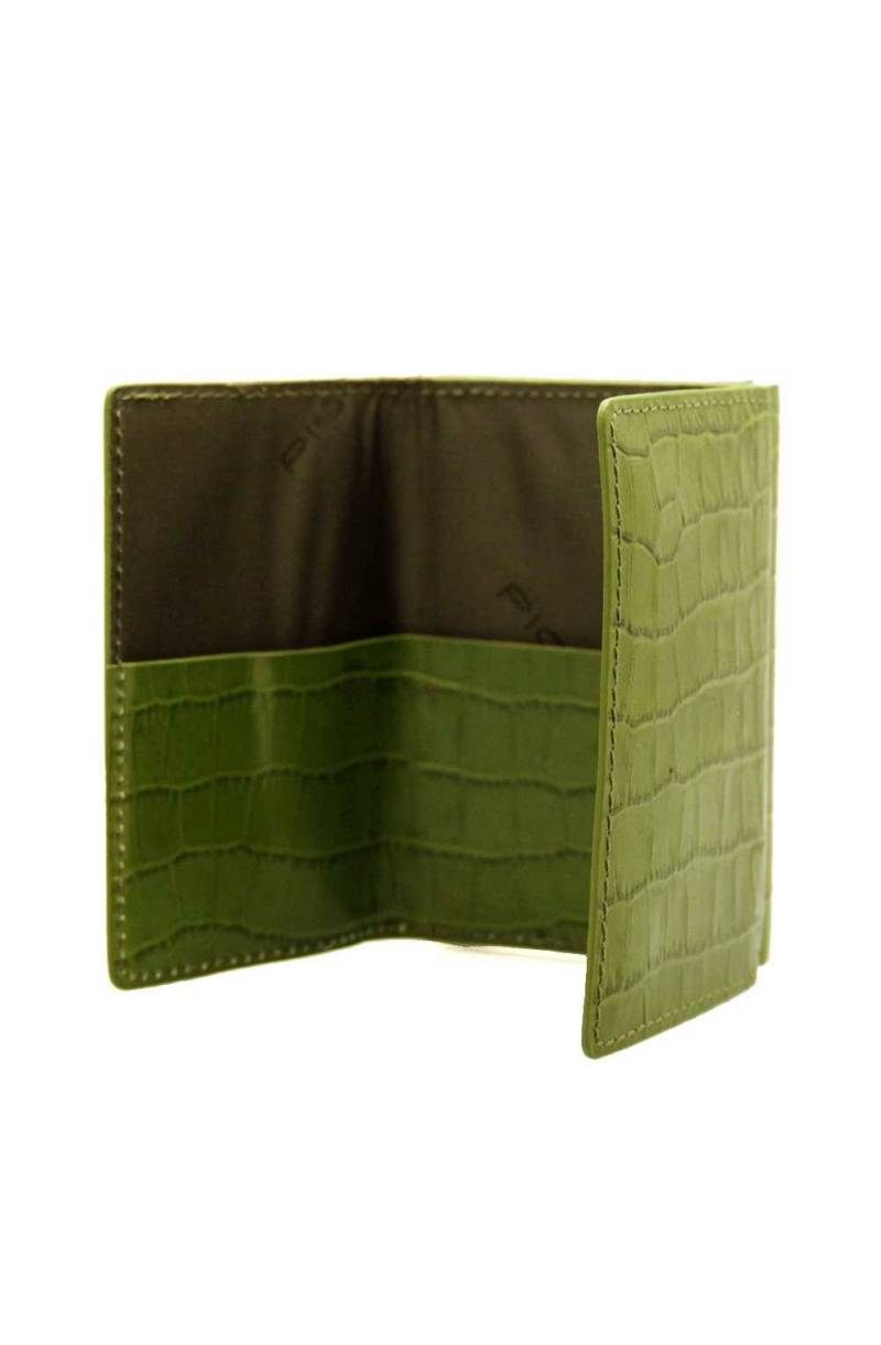 Piquadro Compact wallet per banconote e carte di credito Veco