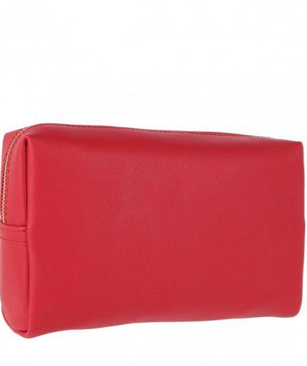 Love Moschino Makeup Bag Rosso