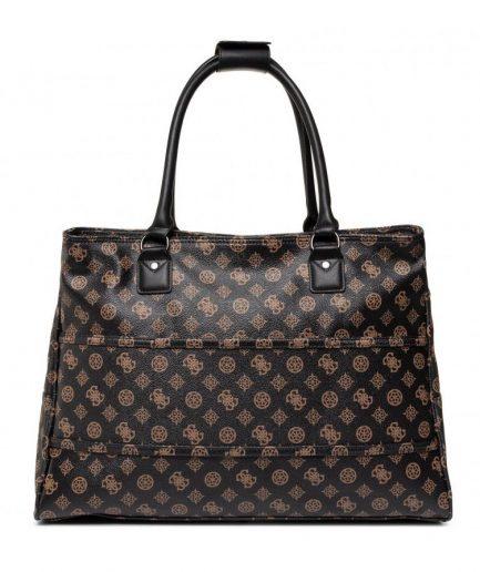 Guess Travel Bag Wilder Logo Peony
