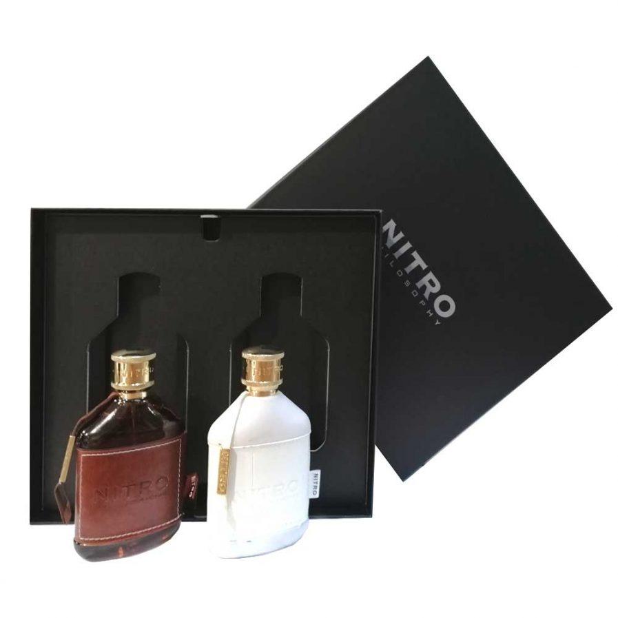Nitro Pour Homme Cofanetto Brown & White