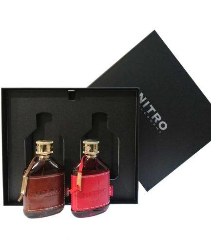Nitro Pour Homme Cofanetto Brown & Red