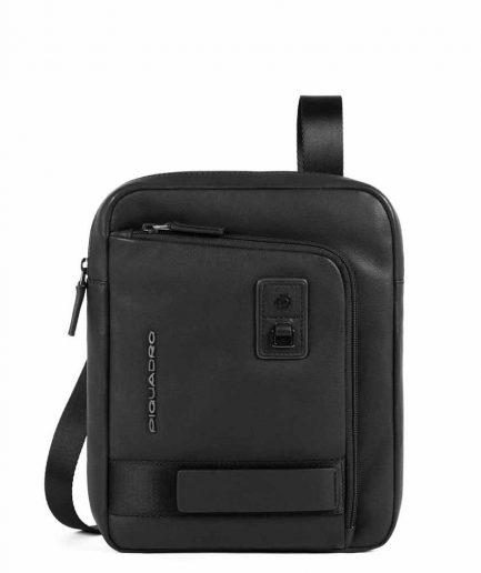 """Piquadro borsello porta iPad Pro 11"""" Dioniso nero Tersicore Crotone"""