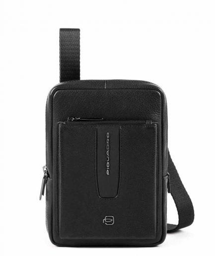 Piquadro borsello porta iPad mini con tasca per CONNEQU Ares nero Tersicore Crotone