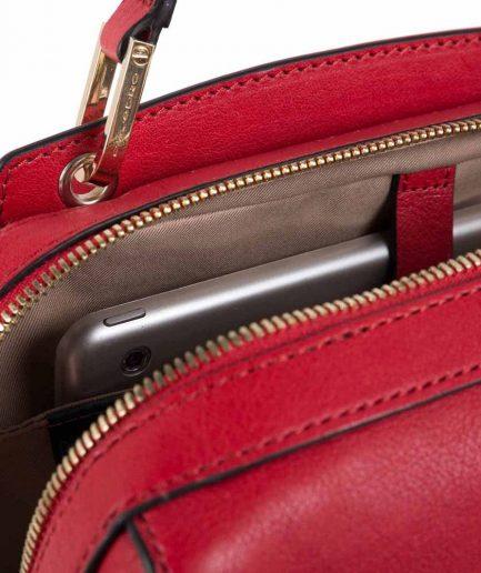 Piquadro Zainetto donna porta computer Dafne rosso Tersicore Crotone