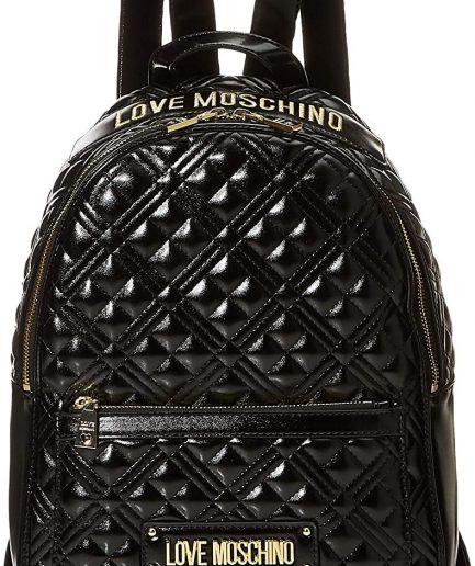 Love Moschino zaino nero quilted nappa Tersicore Crotone