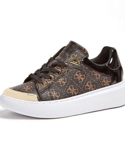 Guess sneakers Brandyn 4g logo marrone Tersicore Crotone