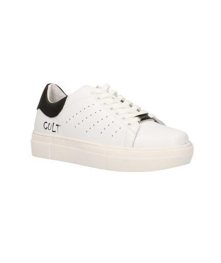 Cult Sneaker Uomo Lemmy bianca e nera