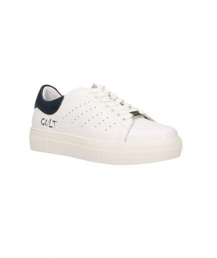 Cult Sneaker Uomo Lemmy bianca e blu