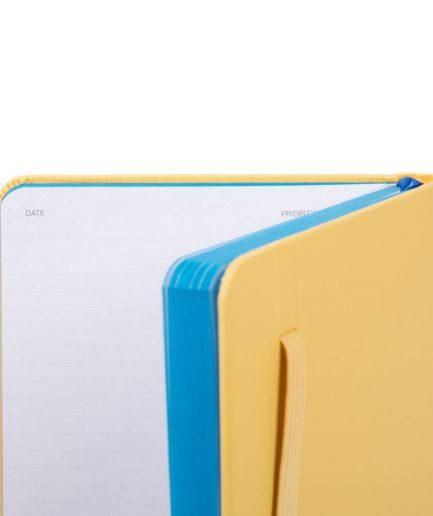 Quaderno a righe formato A5 Stationery giallo Tersicore Crotone