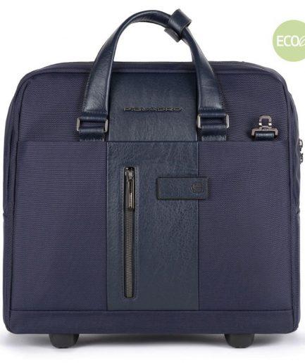 Piquadro Cartella trolley sottile porta PC e porta iPad® Brief 2 blu Tersicore Crotone
