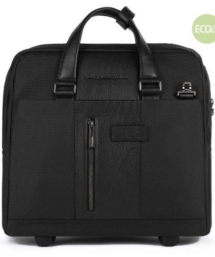 Piquadro Cartella trolley sottile porta PC e porta iPad® Brief 2 nero Tersicore Crotone