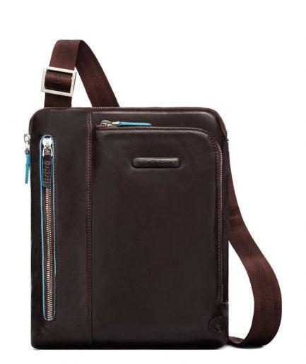 Piquadro borsello porta iPad/iPad®Air blue square mogano Tersicore Crotone