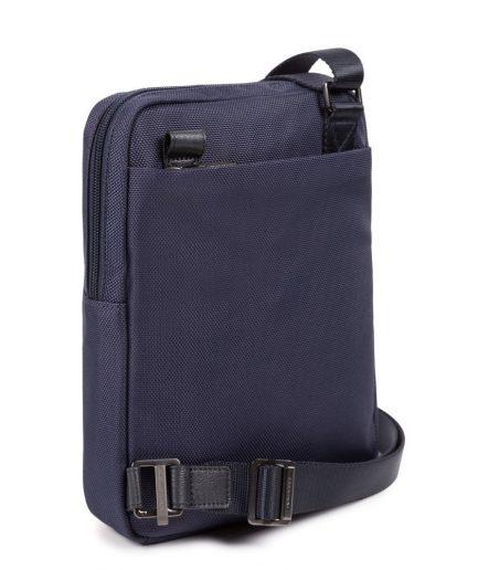 Piquadro Borsello porta iPad® in tessuto riciclato Brief 2 blu Tersicore Crotone