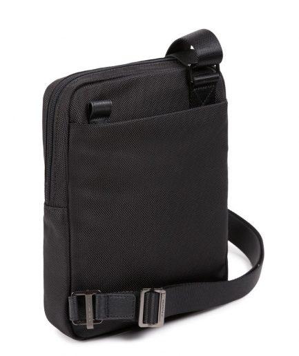 Piquadro Borsello porta iPad® in tessuto riciclato Brief 2 nero Tersicore Crotone