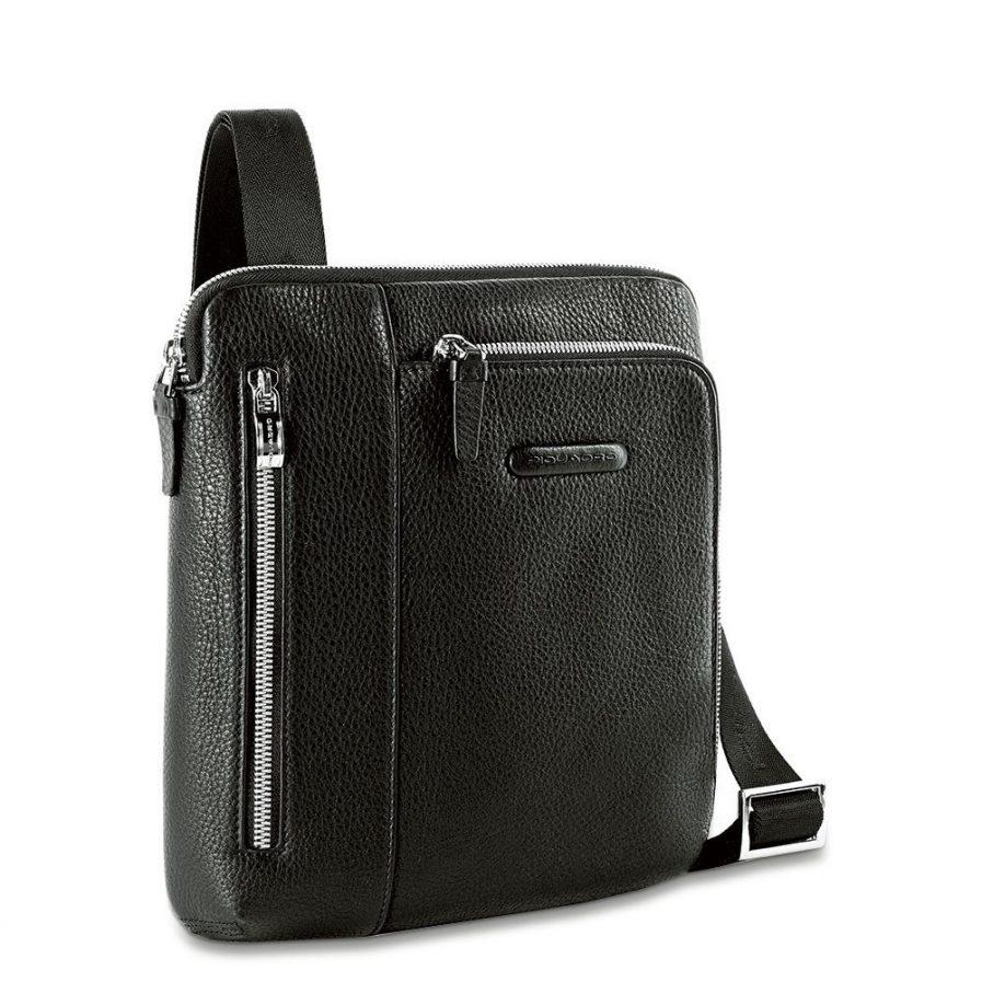 Piquadro Borsello porta iPad®Air/Air2, doppia tasca frontal Modus nero Tersicore Crotone