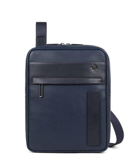 """Piquadro Borsello porta iPad®Pro11"""" Falstaff blu Tersicore Crotone"""