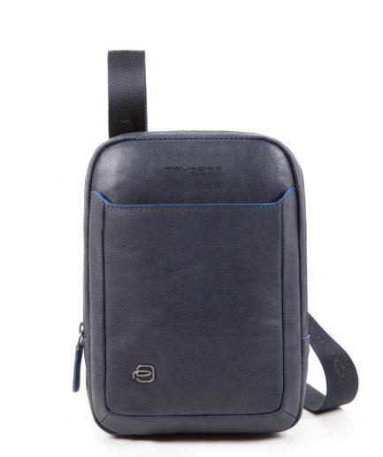 Piquadro Borsello per iPad® MINI in pelle Blue Square Special blu Tersicore Crotone