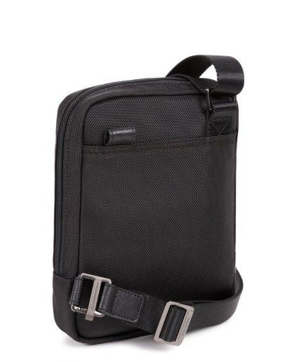 Piquadro Borsello porta iPad®mini in tessuto riciclato Brief 2 nero Tersicore Crotone