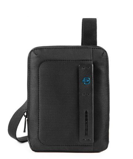 Piquadro Borsello organizzato con scomparto porta iPad®mini P16 nero Tersicore Crotone