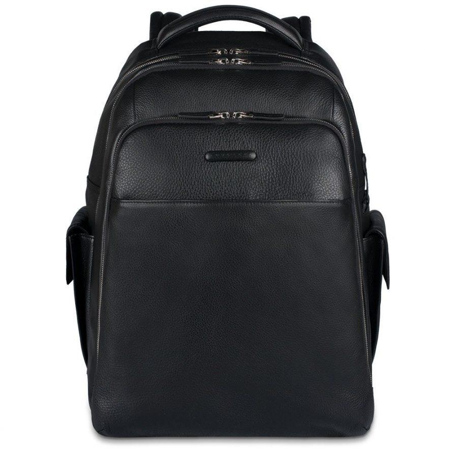 Piquadro Zaino porta PC/iPad®Air/Air2 con tasche portabottiglia e portaombrello Modus nero Tersicore Crotone