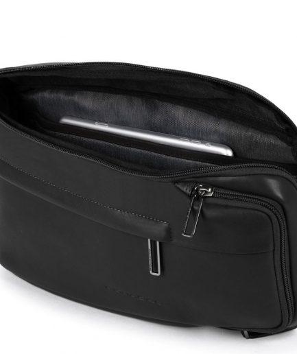 Piquadro Monospalla porta iPad®mini con Falstaff nero Tersicore Crotone