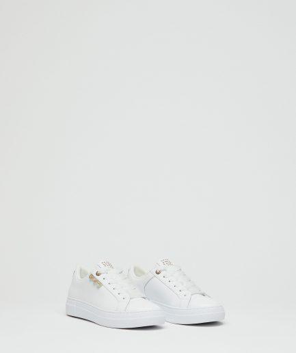 Manila Grace Sneaker Capsole a suola Extralight con intarsio