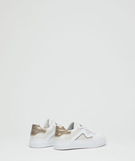 Manila Grace Sneaker Capsole Extralight con micro pois laminati