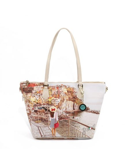 Ynot? Shopping Bag Small Tramonto Sul Mare