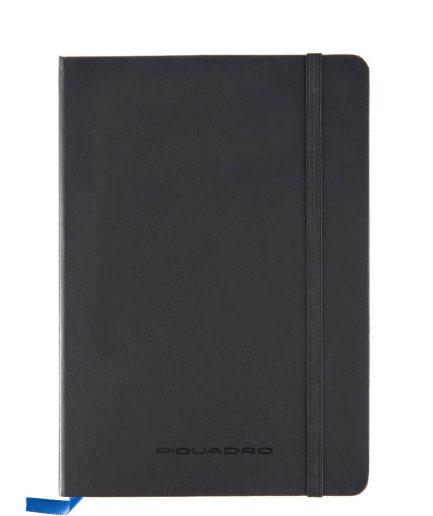 Quaderno a righe formato A5 Stationery nero Tersicore Crotone