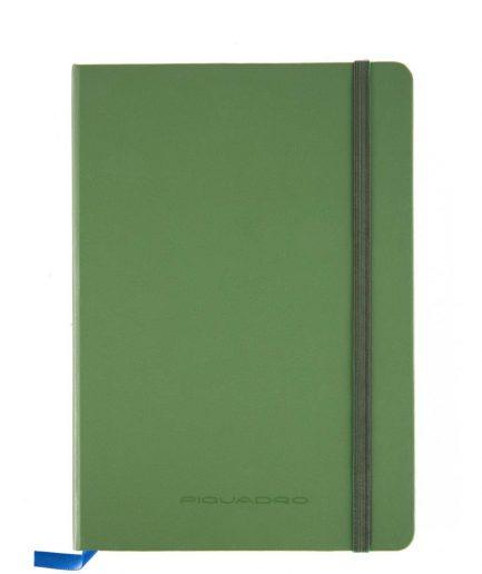 Quaderno a righe formato A5 Stationery verde Tersicore Crotone
